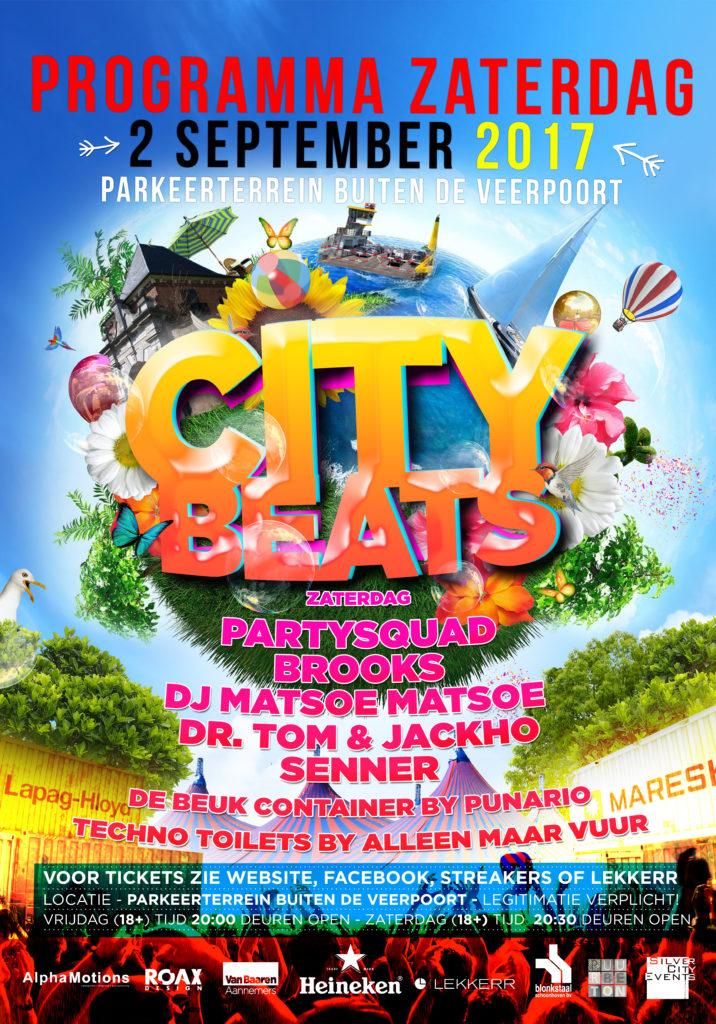 city beats 2017 zaterdag