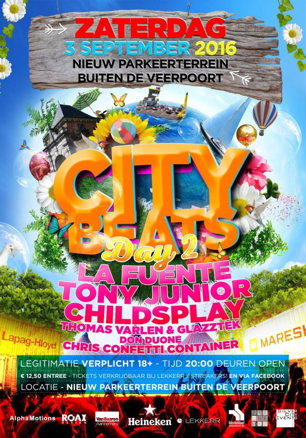 city beats 2016 zaterdag