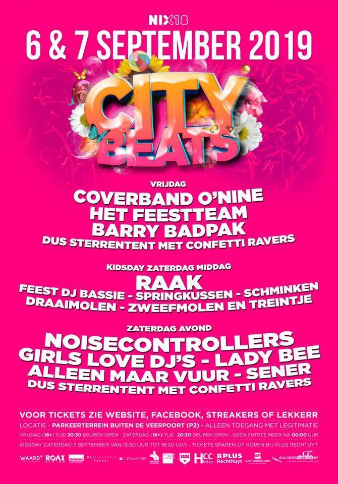 Programma City Beats Schoonhoven 2019